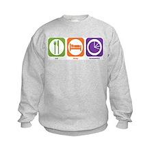 Eat Sleep Economics Sweatshirt