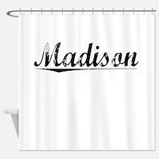 Madison, Vintage Shower Curtain