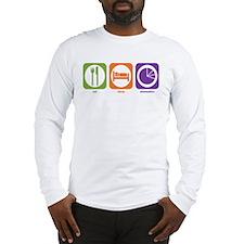 Eat Sleep Economics Long Sleeve T-Shirt