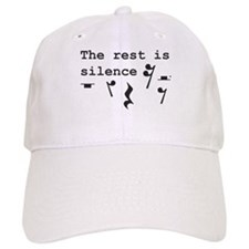 The rest is silence Baseball Cap