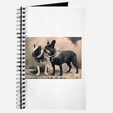 French Bulldog Eliz. Pair Journal