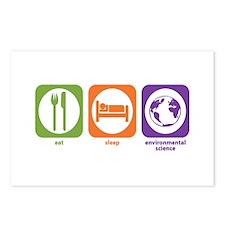 Eat Sleep Environmental Postcards (Package of 8)