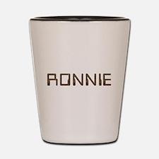 Ronnie Circuit Shot Glass