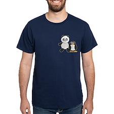 Panda and penguin T-Shirt