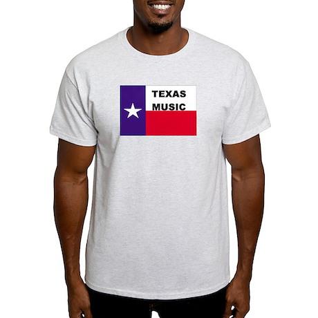 Texas Music Ash Grey T-Shirt