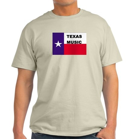 Texas Music Ash Grey T-Shirt