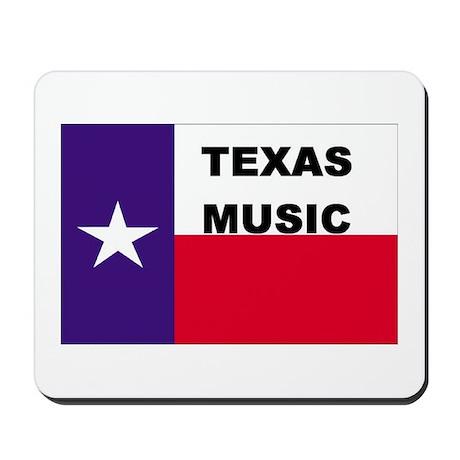 Texas Music Mousepad