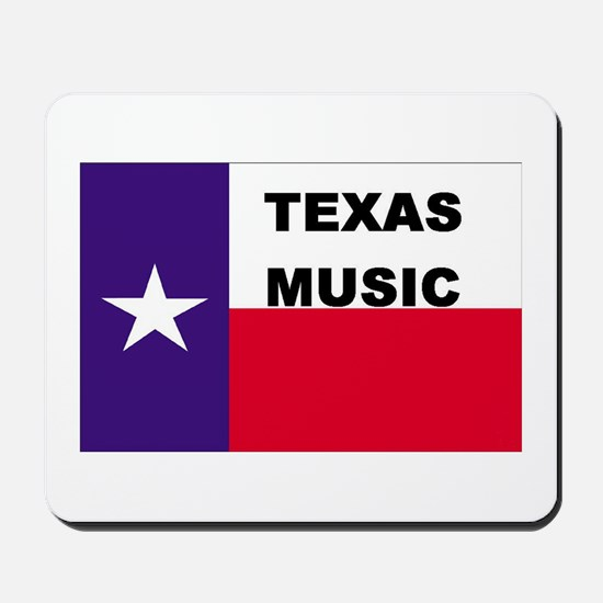Texas Music Mousepad