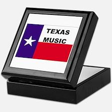 Texas Music Keepsake Box