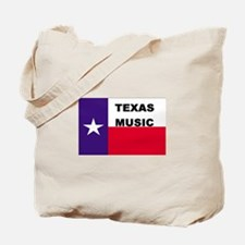Texas Music Tote Bag