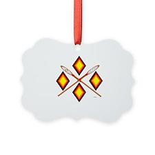 SOUTHEAST TRIBAL STICKBALL Ornament