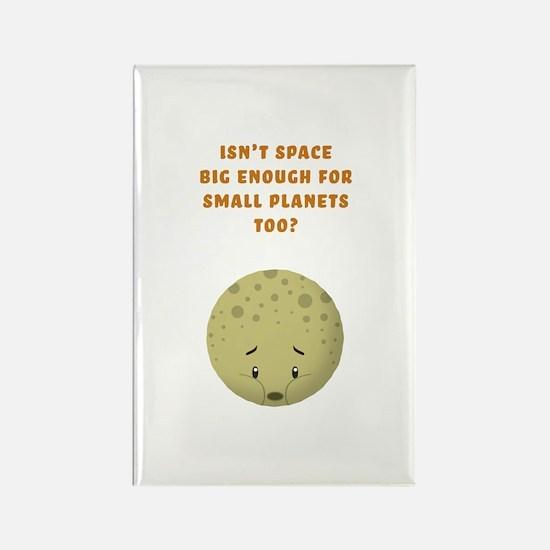 Sad little Pluto Rectangle Magnet (10 pack)