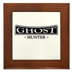 Ghost Hunter Framed Tile