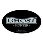 Ghost Hunter Sticker (Oval)