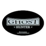 Ghost Hunter Sticker (Oval 10 pk)