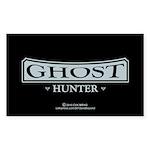 Ghost Hunter Sticker (Rectangle 10 pk)