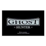 Ghost Hunter Sticker (Rectangle 50 pk)