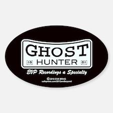 Ghost Hunter EVP Black Decal