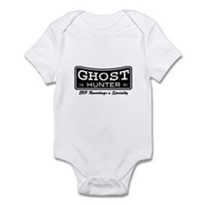 Ghost Hunter EVP Black Infant Bodysuit