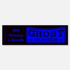 Ghost Hunter EVP Blue Bumper Bumper Sticker