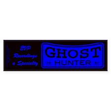 Ghost Hunter EVP Blue Bumper Sticker