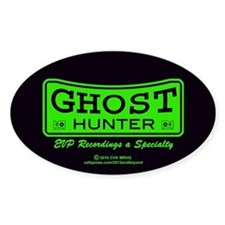 Ghost Hunter Green Decal
