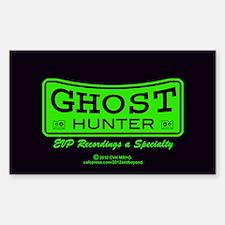 Ghost Hunter Green Decal