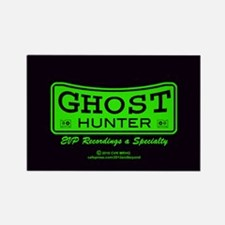 Ghost Hunter Green Rectangle Magnet