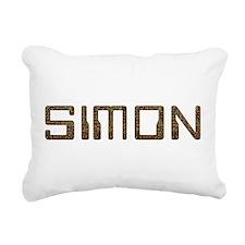 Simon Circuit Rectangular Canvas Pillow