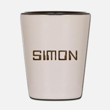 Simon Circuit Shot Glass