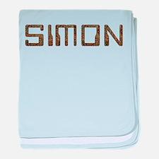 Simon Circuit baby blanket