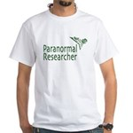 Paranormal Researcher White T-Shirt