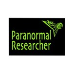 Paranormal Researcher Rectangle Magnet (10 pack)
