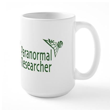 Paranormal Researcher Large Mug