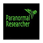 Paranormal Researcher Tile Coaster