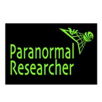 Paranormal Researcher Postcards (Package of 8)