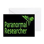 Paranormal Researcher Greeting Cards (Pk of 10)