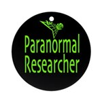 Paranormal Researcher Ornament (Round)