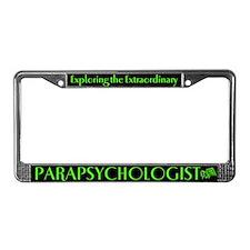 Parapsychologist License Plate Frame