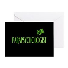 Parapsychologist Greeting Card