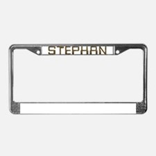 Stephan Circuit License Plate Frame