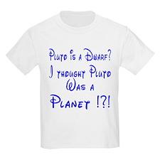 Pluto: Dwarf or Planet? Kids T-Shirt