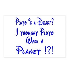 Pluto: Dwarf or Planet? Postcards (Package of 8)