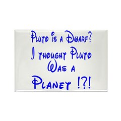 Pluto: Dwarf or Planet? Rectangle Magnet (100 pack
