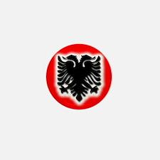 Albanian Mini Button