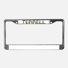 Terrell Circuit License Plate Frame