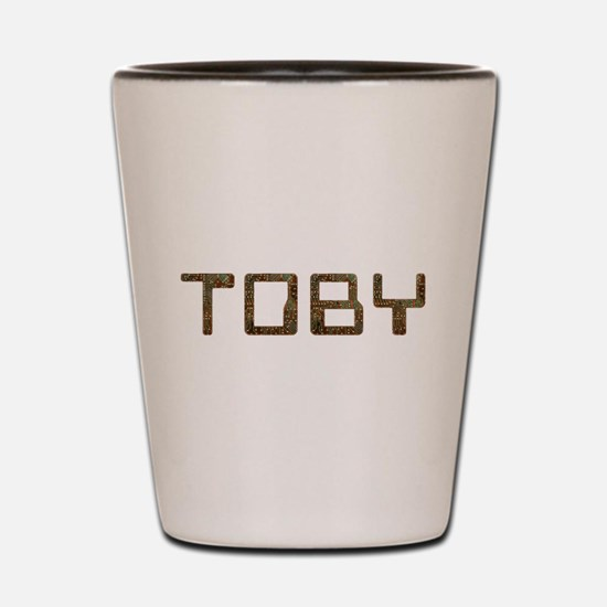 Toby Circuit Shot Glass