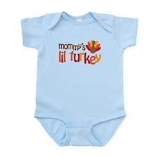 Mommy's Lil Turkey Infant Bodysuit