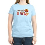 Mommy's Lil Turkey Women's Light T-Shirt