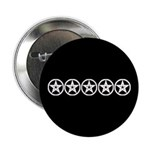 Pentagram Black and White As Above Button